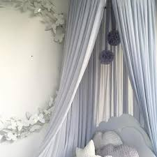 Hot Offer 574af0 Nordic Baby Mosquito Net Accessories Hanging Ball Princess Kids Bedroom Children Bed Tent Baby Girl Room Decor Crib Netting Ball Cicig Co
