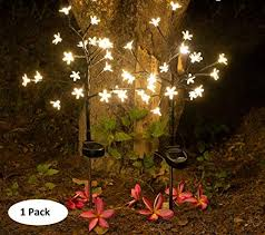 epicgadget solar flower fairy light
