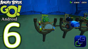 Angry Birds GO Android Walkthrough - Part 6 - Rocky Road: Track 1 ...