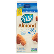 silk light vanilla almondmilk 1 2 gal