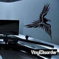 Disturbed Flying Eagle Decal Horse Wall Decals Car Decals Vinyl Elephant Wall Decals