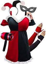 harley quinn costume diy