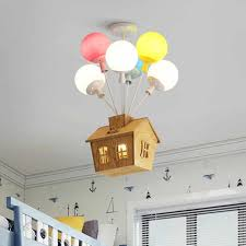 Balloon Lamp Kids Room Chandeliers For Bedroom Children Room Multi Color Chandelier Indoor Home Birthday Holiday Decor Pendant L Pendant Lights Aliexpress