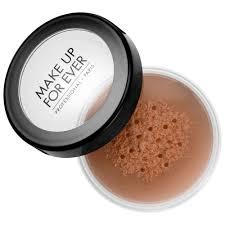 super matte loose powder make up for