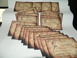 12 Tarjetas Cumpleanos 10x14 Cm Bifaz Pergamino Pirata Jake