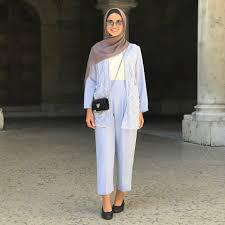 ملابس محجبات لصيف 2018 من اطلالة فاطمة حسام صور الشرقية توداي