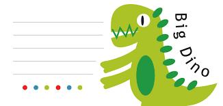Tarjetas De Invitacion A Cumpleanos De Dinosaurios Para Enviar Por