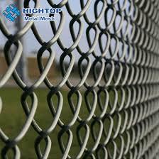 China Hot Dipped Galvanized Wire Mesh Chain Link Fence For Yard China Chain Link Fence Chain Link Wire Mesh