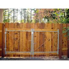 Adjust A Gate Consumer Series 36 In To 72 In W Steel Gate Opening Gate Frame Kit Ag 72 The Home Depot Driveway Gate Diy Backyard Gates Adjust A Gate