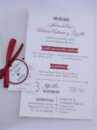 Un Estilo Mas Formal Vino Y Crema Invitacion Boda Invitaciones