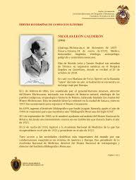 1904 Nicolás León Calderón by SMGE MÉXICO - issuu