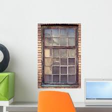 Vintage Window Wall Decal Wallmonkeys Com