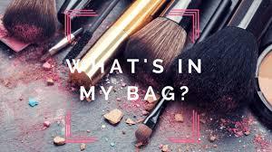 what s in my makeup bag travel las