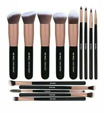 synthetic fibre makeup brushes