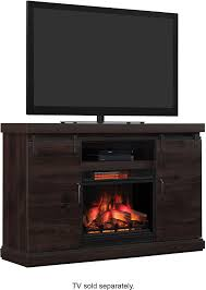 bell o barn door tv stand for most tvs