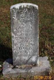 HENDERSON, SAMUEL - Newton County, Arkansas | SAMUEL HENDERSON - Arkansas  Gravestone Photos