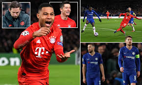 Chelsea 0-3 Bayern Munich: Germans romp to victory at Stamford ...