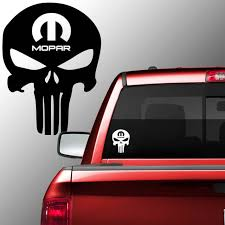Excited To Share The Latest Addition To My Etsy Shop Mopar Skull Vinyl Decal Sticker Punisher Charger Rt Dodge Ram Tr Vinyl Decal Stickers Mopar Vinyl Decals