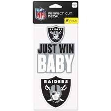 Official Las Vegas Raiders Car Decal Raiders Window Decal Window Decal For Cars Nflshop Com
