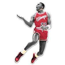 Macbook Sticker Michael Jordan