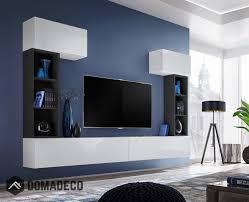 Boise Ii Modern Entertainment Center Living Room Wall Units Modern Tv Wall Units Entertainment Wall Units