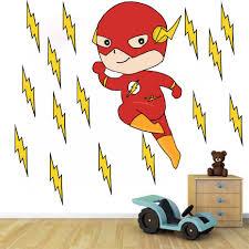 Cartoon Flashman Superhero Anime Diy Wall Art Decals For Kids Nursery Bedroom Home Decor Vinyl Wall Sticker Removable Wallpaper Wall Stickers Aliexpress