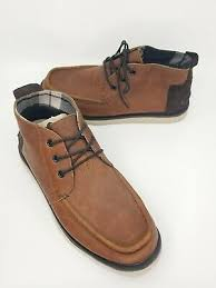 toms mens waterproof brown chukka boots