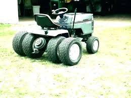 craftsman garden tractors