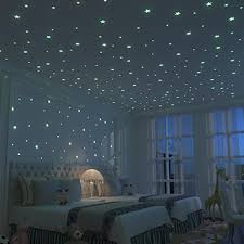 100pcs 3 8cm 3d Star Wall Stickers Glow In The Dark Decal Baby Kids Room Decor