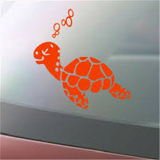 Sea Turtle Island Boho Ocean Decal Decals Sticker Stickers Auto Vinyl Window For Sale Online Ebay