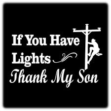 Thank My Son Vinyl Decal