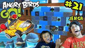 Lets Play Angry Birds GO Part 21! JENGA & Online Multiplayer (Mike ...