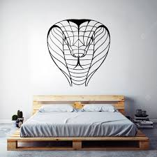 Cobra Silhouette Simple Art Wall Stickers Black 58 X 62cm Wall Stickers Sale Price Reviews Gearbest