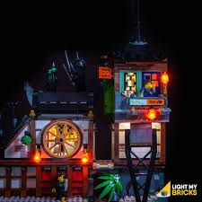 Ninjago City Docks #70657 Light Kit – I'm Rick James Bricks