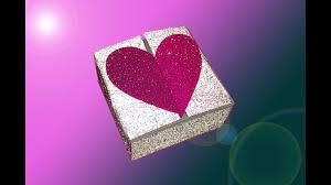 diy heart box with two locks no