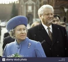 Queen Elizabeth Ii On Visit To Russia Stock Photos & Queen ...