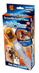 coolmad pedi paws dog nail grinder