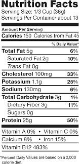 quaker oats nutrition value