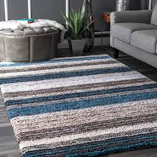blue and brown rug com