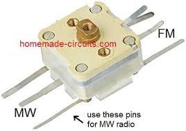 simplest am radio circuit homemade
