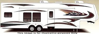 Amazon Com Rv Trailer Camper Large Vinyl Decals Graphics Kit K 0009 Automotive