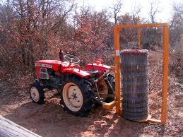 Bought A Fence Unroller For The Tractor Homesteading Forum