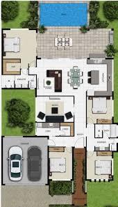 Pin de adela carr em My favourite Floor Plans | Plantas de casas, Casas com  4 quartos, Projetos de casas terreas