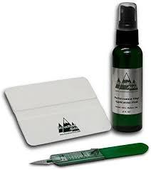 Amazon Com Steadfast Auto 51997 Vinyl Decal Installation Kit Application Fluid Squeegee Trim Knife Automotive