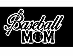 Baseball Mom Vinyl Sticker Decal Car Decal Laptop Decal Stickers