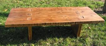 coffee tables reclaimed timber