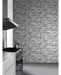 stone wall wallpaper grey rasch 265620