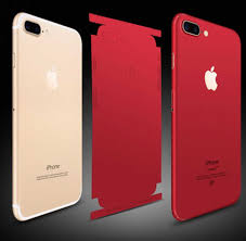 Phone Sticker Skin For Iphone 6 6s 6p 7 7p 8 8p X Red Skin Mobile Sticker Back Sticker For Iphone Phone Skins Stickers Phone Case Covers Aliexpress
