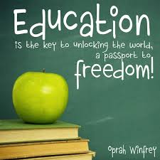quotes about education oprah quotes