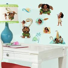 Roommates Disney Moana Peel And Stick Wall Decals Walmart Com Walmart Com